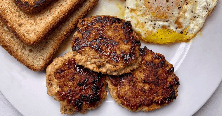 Homemade Chicken Breakfast Sausage