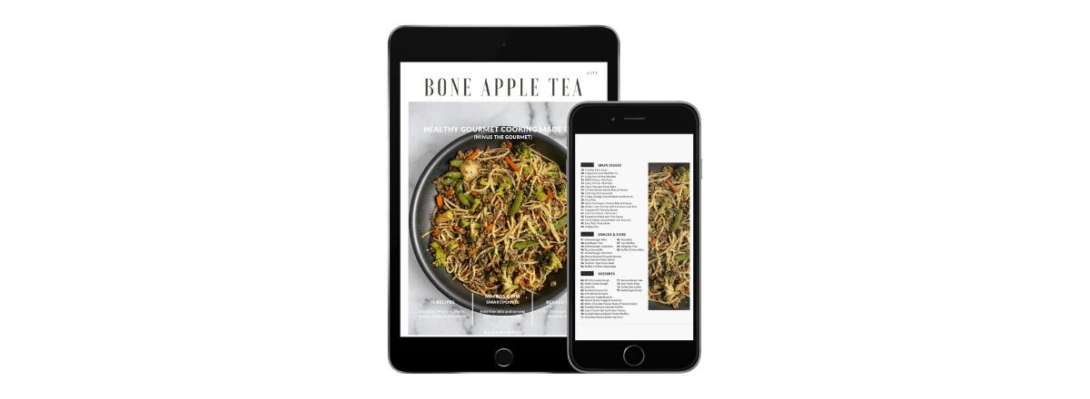 Free Cookbook: Bone Apple Tea