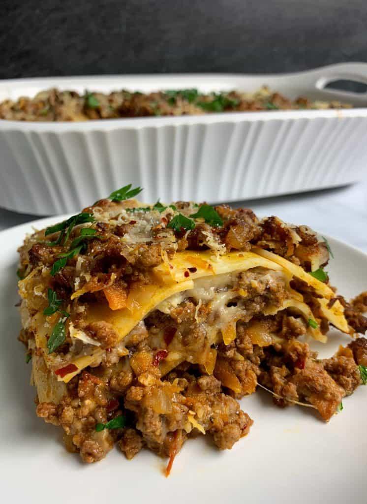 low carb lasagna recipe with palmini lasagna noodles