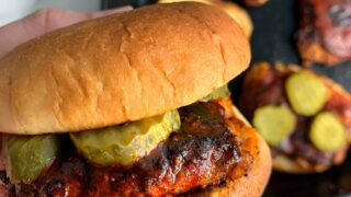 Nashville Hot Chicken Burgers