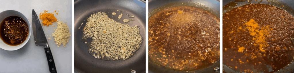 how to make orange chicken sauce
