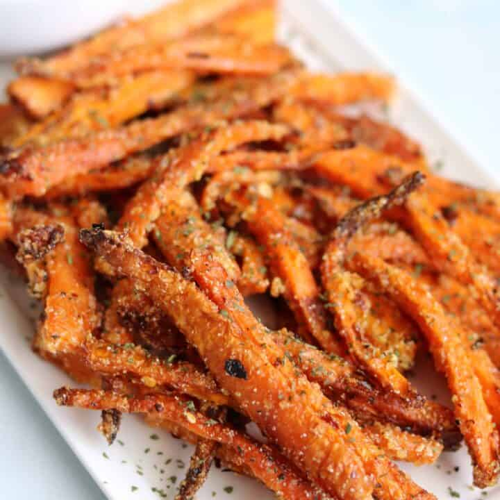 air fryer carrot fries recipe