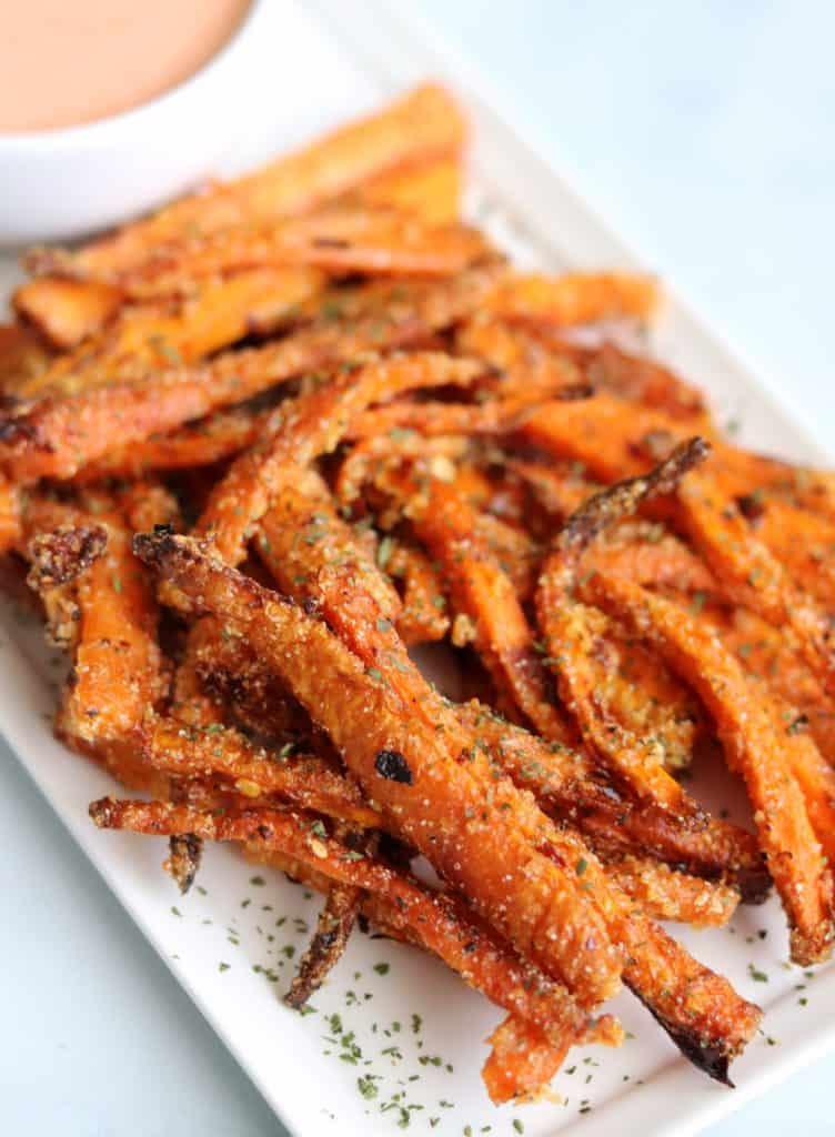 air fryer carrot fries recipe