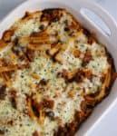 hatch green chile pumpkin pasta casserole with ground turkey