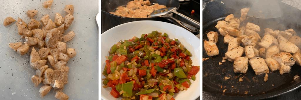 how to cook fajita chicken