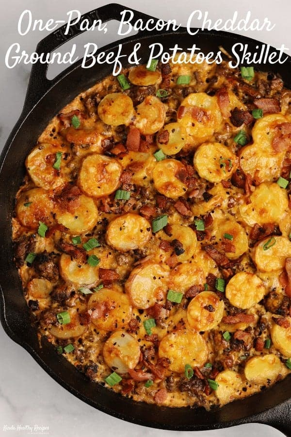Loaded Ground Beef And Potatoes Skillet Kinda Healthy Recipes