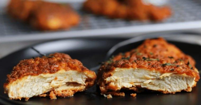 Crispy Buttermilk Pan Fried Chicken Breast