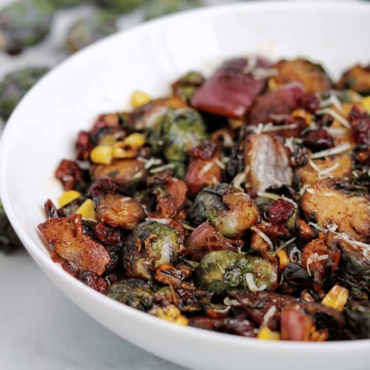 Crispy Cast Iron Brussels Sprouts