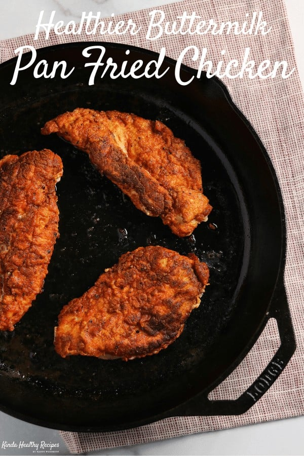 RECEPT: healthy fried chicken