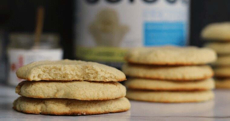 Vanilla Bean Protein Sugar Cookies
