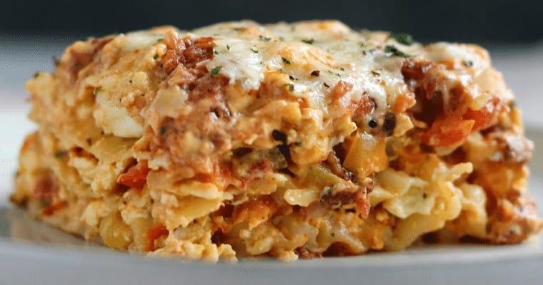 Tex Mex Breakfast Lasagna