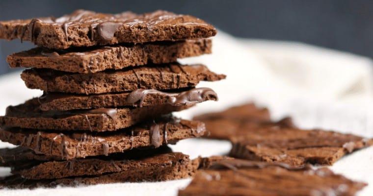 Protein Brownie Brittle