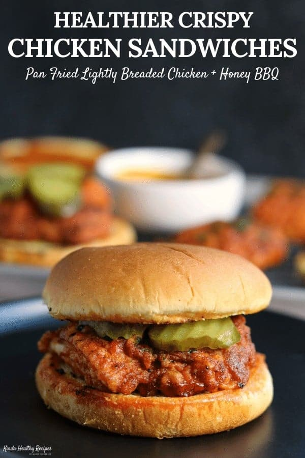 These crispy chicken sandwiches will make you forget all about Chick-Fil-A, Popeyes, and other wannabes. Now you can make healthier, delicious chicken sandwiches right at home!