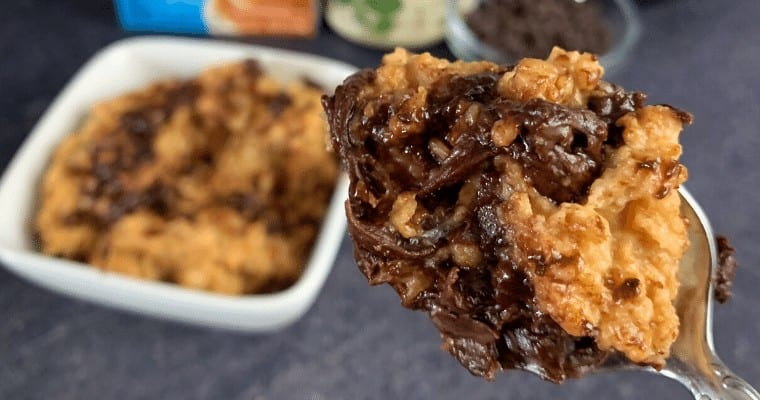 Butterfinger Protein Oatmeal