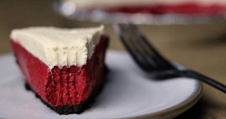 Red Velvet Protein Cheesecake