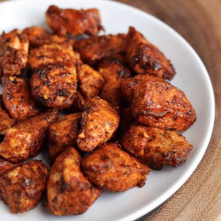 Nashville Hot Air Fryer Chicken Nuggets
