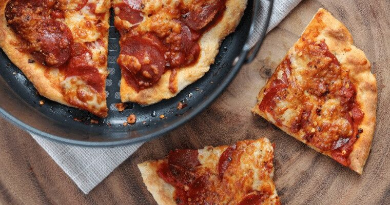 Low Fat Air Fryer Pizza