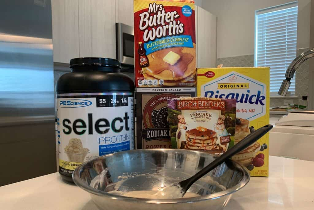 protein pancake mix options for protein waffles