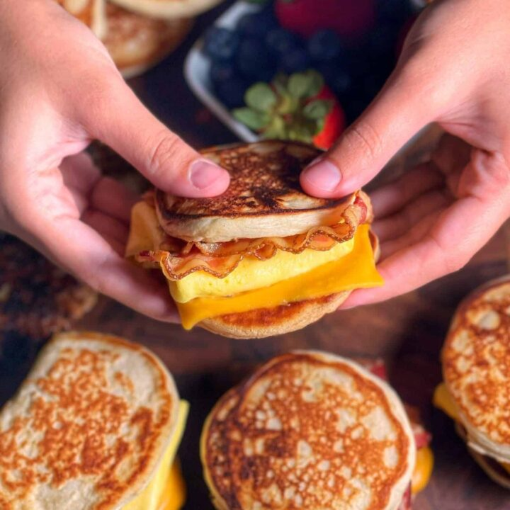 Healthy Homemade McDonald's McGriddles