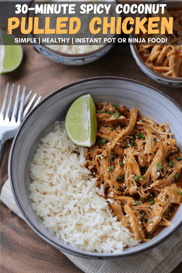 The Best Pressure Cooker Pulled Chicken Instant Pot Or Ninja Foodi