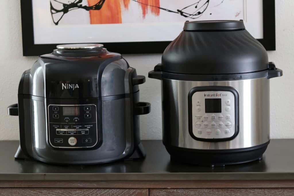 Ninja Foodi and Instant Pot Air Fryer