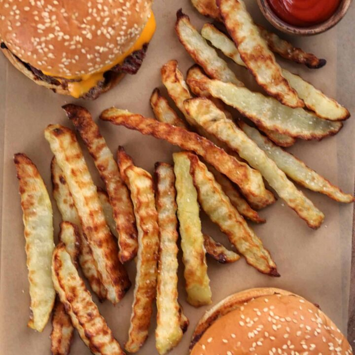 Crinkle Cut Fries (Baked or Air Fried)