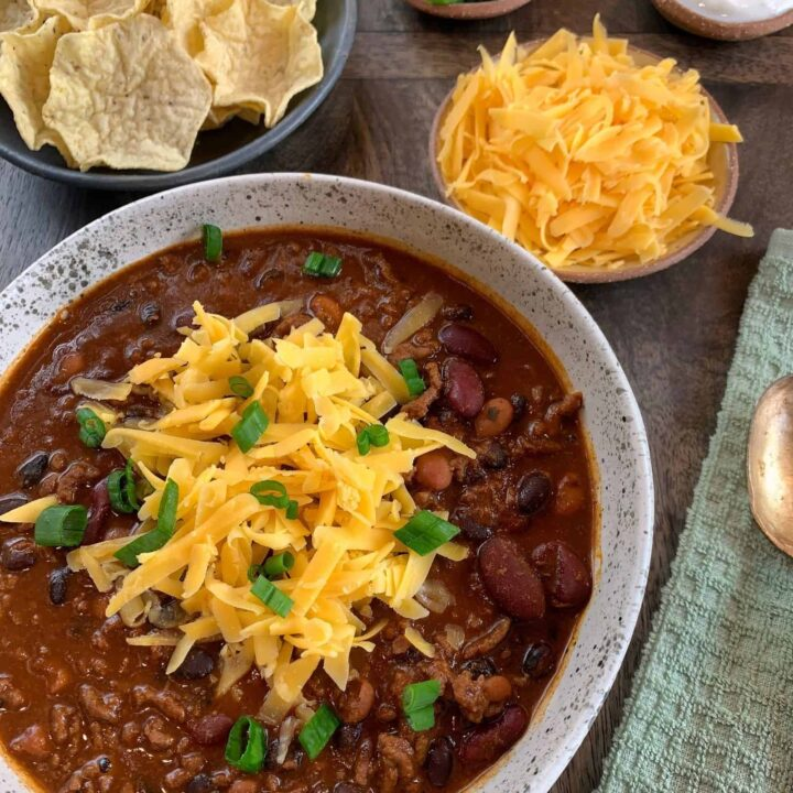 Kid Friendly High Protein Chili