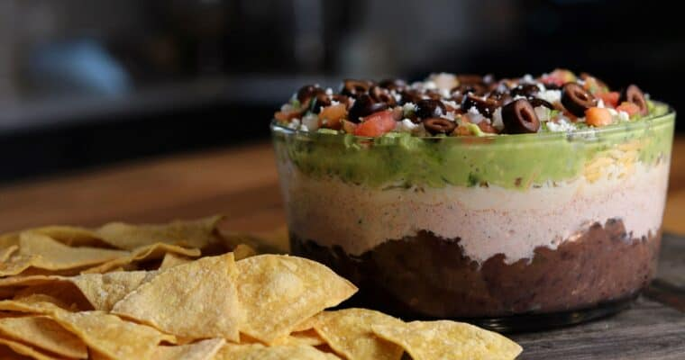 Kinda Healthy Layer Dip
