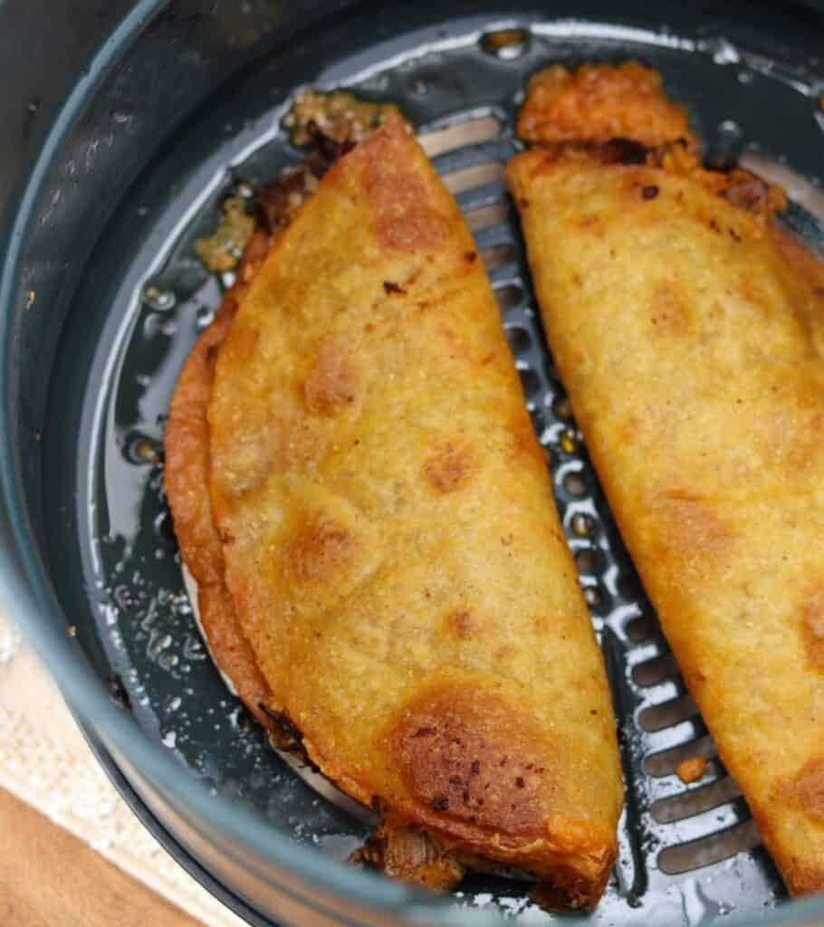 quesadillas after air frying