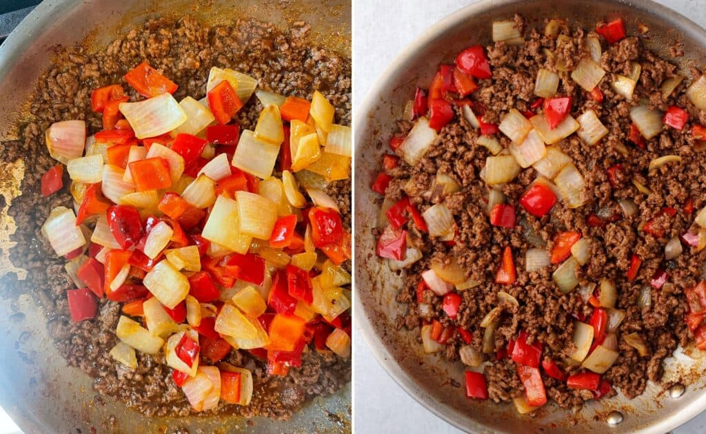 finished Beijing ground beef